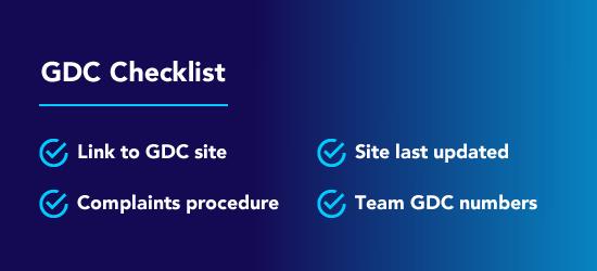 gdc compliance